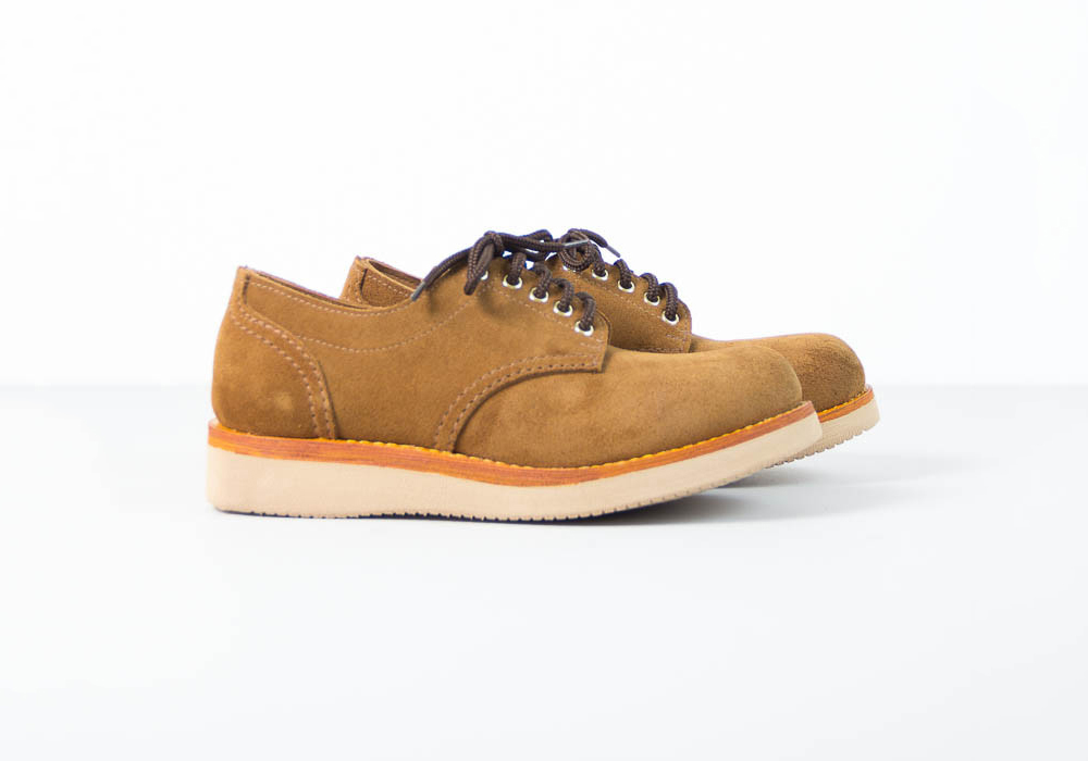 Mainland Boots Create Rough Out Suede Oxford   2 Colors