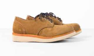 Mainland Boots Create Rough Out Suede Oxford – 2 Colors