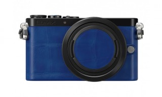 Panasonic Limited Edition Blue Leather GM1 Camera For Colette Paris