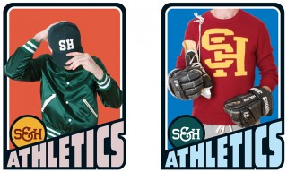 "Shipley & Halmos Launch Sportswear Line ""S&H Athletics"""
