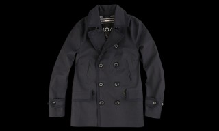 Mackintosh & Unionmade Create A Waterproof 'Novar' Peacoat For Spring