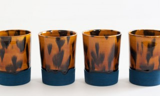 Contrast Tortoise Shell Tumblers by Forrest Lewinger's Workaday Handmade