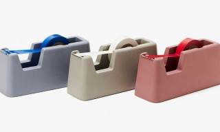 Concrete Tape Dispensers by Magnus Pettersen