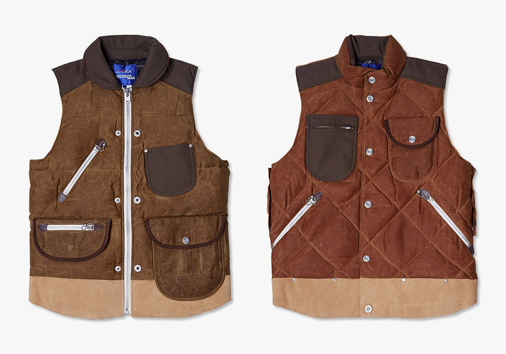 4 Hunting Vests from Junya Watanabe MAN by Duvetica