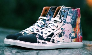 Bäst for Marc Jacobs Painted Canvas Hi-Top Sneaker