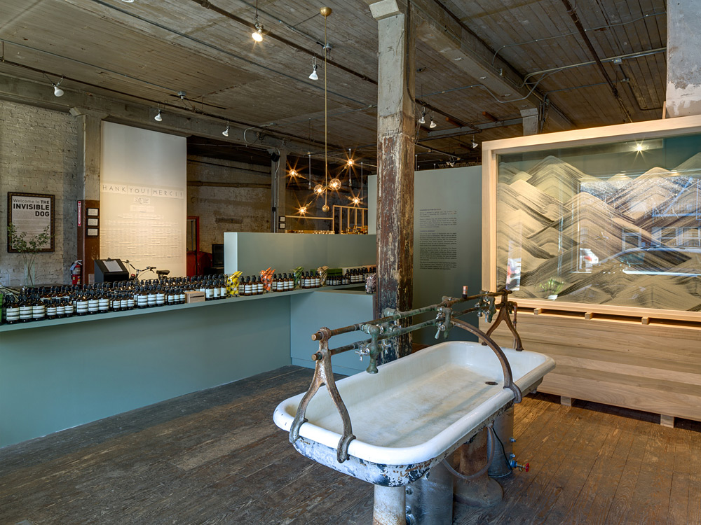 Aesop Opens a Pop Up Store in Brooklyn