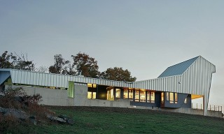 The Arkansas Hilltop Home With An Angular Steel Roof