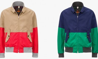 Baracuta Blue Label Spring/Summer 2014 Water-Repellent Sailing Collection