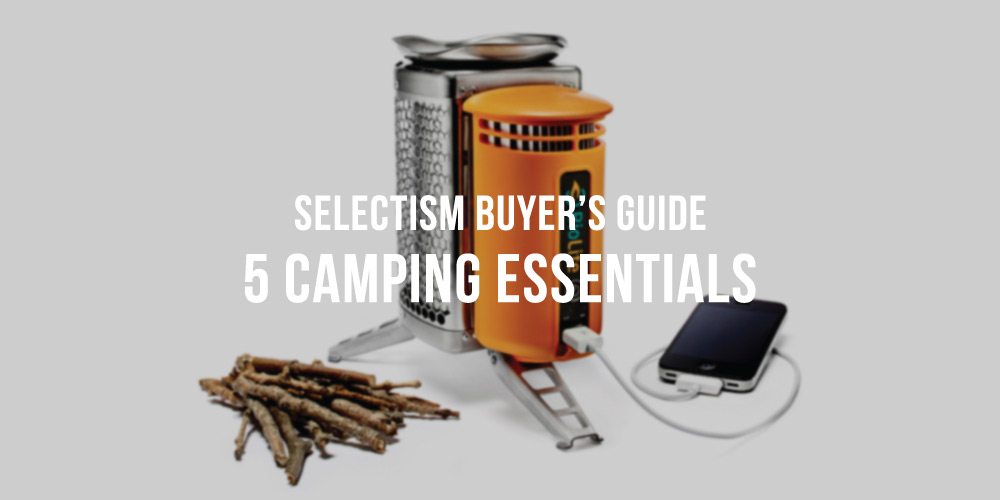 Camping Gear Guide - 5 Essentials for Spring 2014