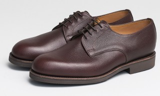 Danish Label Capital Goods Create Derby Shoe with Sanders in 2 Colors