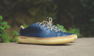 Something Sporty from Clarks Originals – The Vulco Arrow in Navy Leather