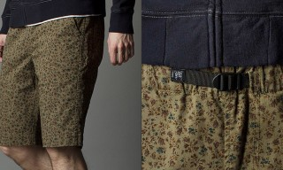 Garbstore Spring 2014 Micro-Floral BMX Shorts