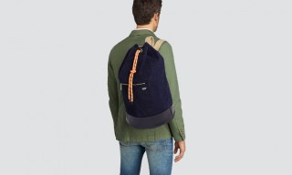Jack Spade Rope Canvas Cinch Backpack