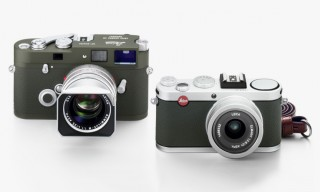Leica Release Limited Edition Kyoto Store Olive Leather MP and X2 Cameras
