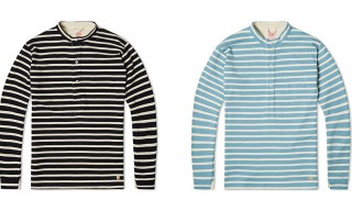 Grandad Shirt Meets Breton – Nigel Cabourn for Armor Lux Spring 2014