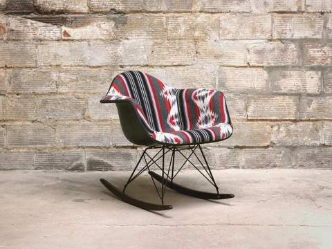 custom pendleton eames rocking chair photos selectism