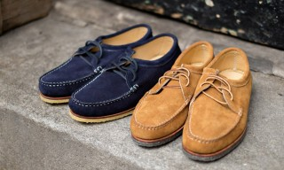 Quoddy Step Up for Spring with the Tukabuk Suede Moc in 2 Colors