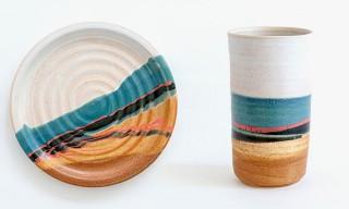 Robert Blue Ceramic Stonewear Set