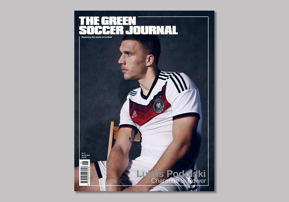 Soccer Green Journal