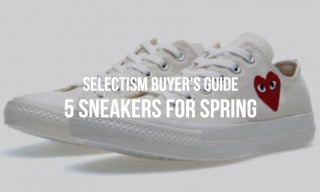 Selectism Buyer's Guide | 5 Sneakers for Spring