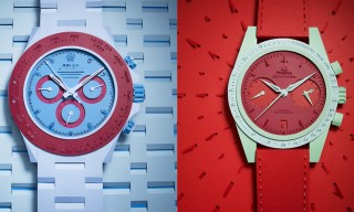 5 Iconic Watches Recreated In Paper For L'Officiel Hommes Spring 2014