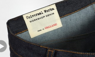 "Introducing Universal Works ""Workshop Denim"" – Made in England"