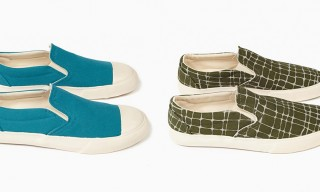 YMC Spring/Summer 2014 Slip-On Sneaker Selection