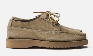 "Yuketen for Inventory Marcel ""Khaki Rough-Out"" Oxfords"