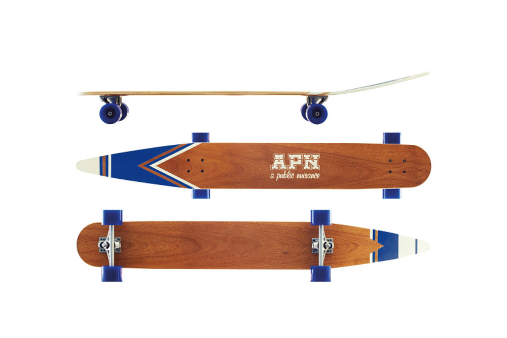 Waterski Inspired Longboards by A Public Nuisance