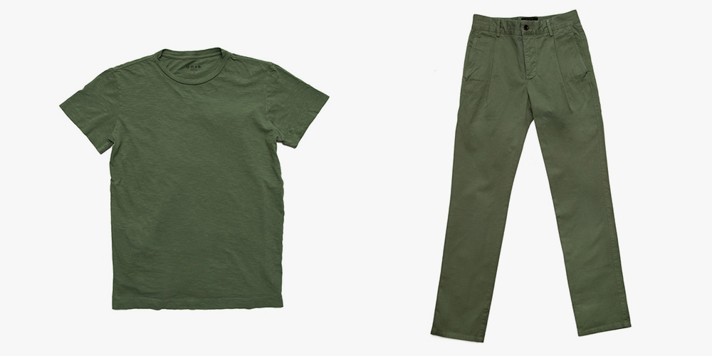 Unis Spring 2014 Basics Go Green