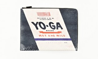 "Raf Simons Pop Art Inspired ""Yoga"" Document Wallet"