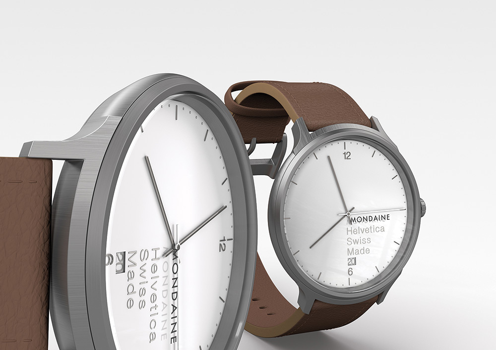 Mondaine Launches Helvetica Watch Family No. 1 Collection