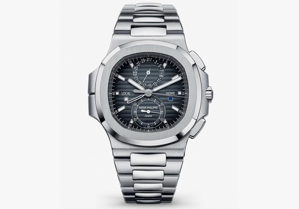 Patek Philippe Nautilus Travel Time Chronograph with Dual Time Zone