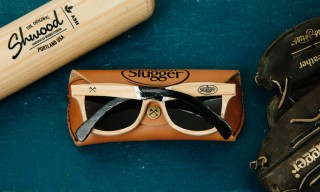 Shwood turn Baseball Bats into Sunglasses for Louisville Slugger