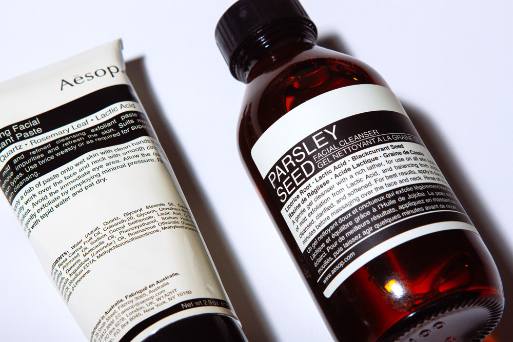 Aesop Introduces Two New Exfoliation Products