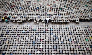 Ai Weiwei Fills Berlin's Martin-Gropius-Bau Exhibition Hall with 6,000 Stools