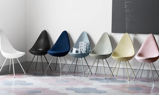 Republic of Fritz Hansen Bring the Arne Jacobsen Drop Chair Back to Life
