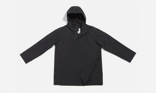 The Eyam Technical Pullover Jacket – 6876 Black Project & Mamnick