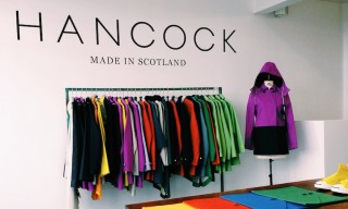 Inside the Hancock Outerwear Pop-up Store, London