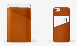 Mujjo Offer Minimalist, Slim, Leather Protection for iPad & iPhone