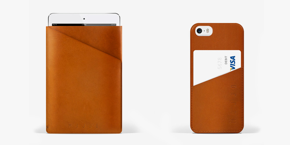 Mujjo iPad & iPhone Slim Fit Leather Cases