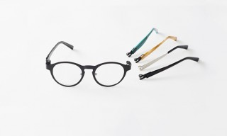 "Customizable Eyewear with the Nendo ""Magne-Hinge"" Magnetic Frame"