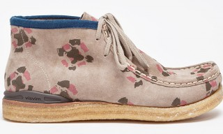 Visvim Patterned Suede Beuys Trekker Folk Chukka