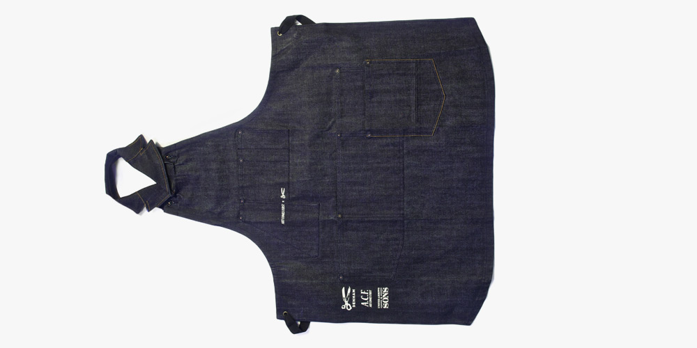 ACF and Denham the Jeanmaker Apron for United Arrows 2014