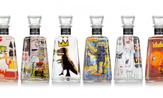 Jean-Michel Basquiat for 1800 Tequila Limited-Edition Bottles