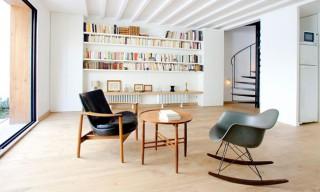 "Inside the Beautiful Timber Cube Parisian Home – ""Maison en Bois"""