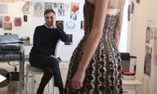 "Watch a Snippet of Raf Simons's ""Dior and I"" Documentary"