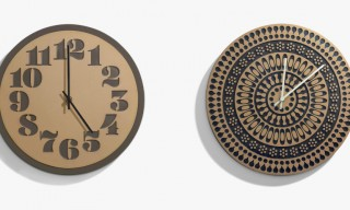 Heath Ceramics for House Industries Wall Clocks