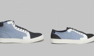Light Blue Jean Sneakers by Piola
