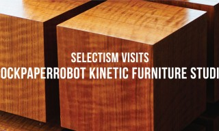 Selectism Visits | RockPaperRobot Kinetic Furniture Studio